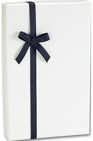 "Ultra White Gloss Gift Wrap 24"" x 417'  - 1 Roll"