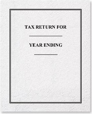 Tax Return Folder - 50 folders