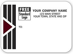 Park Avenue Small Mailing Labels, Roll - 250 Count